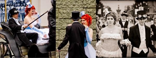 Маленькая челябинская стимпанк-свадьба (Фото 15)