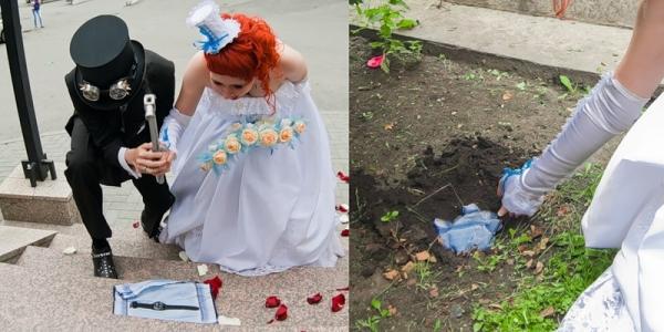 Маленькая челябинская стимпанк-свадьба (Фото 18)
