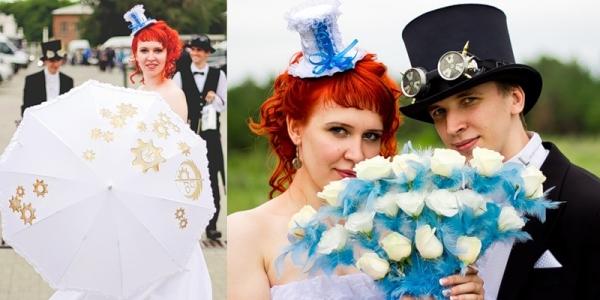 Маленькая челябинская стимпанк-свадьба (Фото 6)