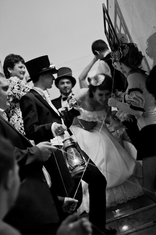 Маленькая челябинская стимпанк-свадьба (Фото 19)