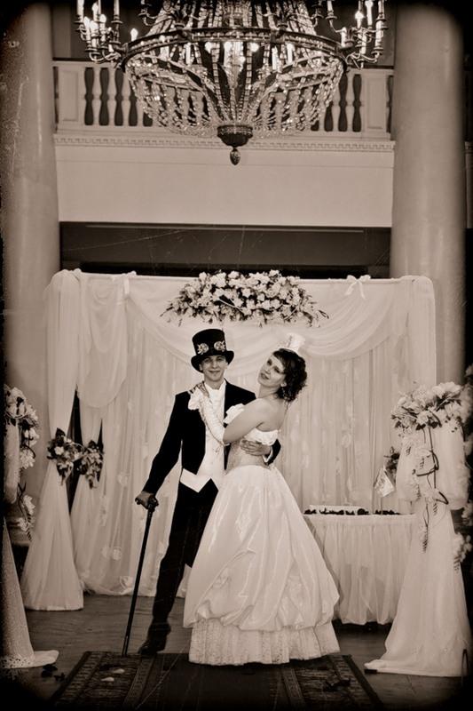 Маленькая челябинская стимпанк-свадьба (Фото 11)