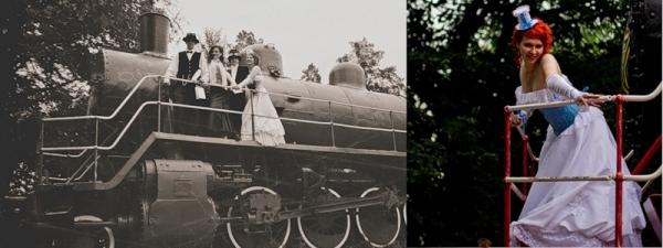 Маленькая челябинская стимпанк-свадьба (Фото 16)