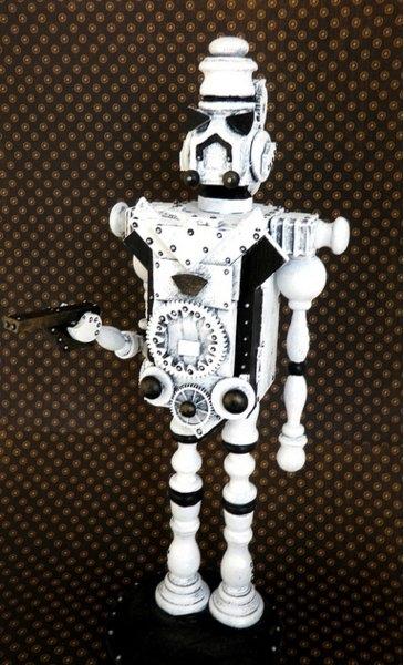 Космические роботы от Джордана , счел их стимпанком! (Фото 3)