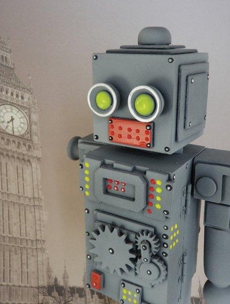 Космические роботы от Джордана , счел их стимпанком! (Фото 7)