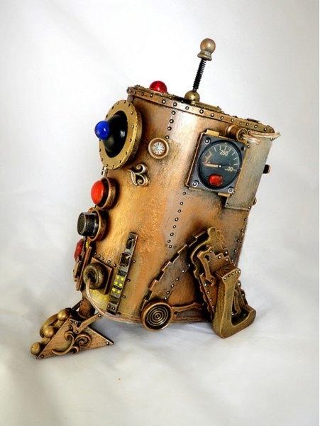 Космические роботы от Джордана , счел их стимпанком! (Фото 2)