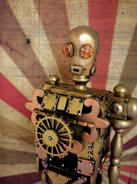 Космические роботы от Джордана , счел их стимпанком! (Фото 5)