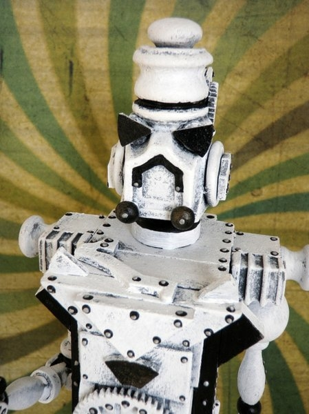 Космические роботы от Джордана , счел их стимпанком! (Фото 4)