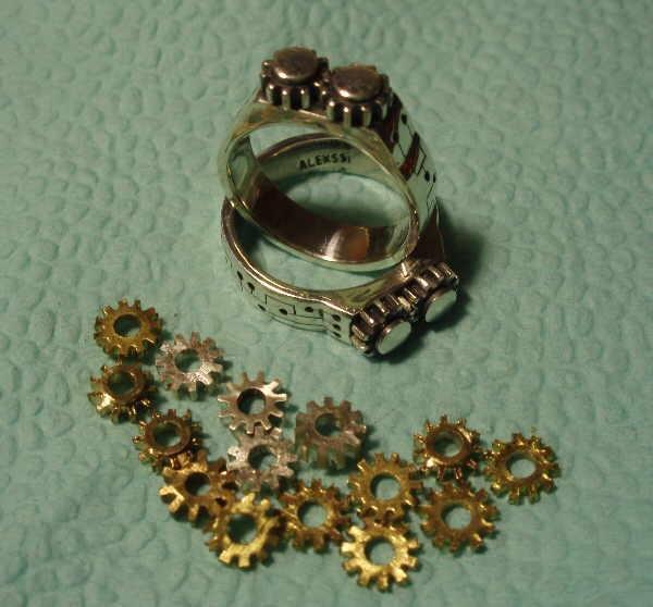 """Перстень с шестеренками и хрустальным магическим шаром (""""Хватит ломать часы!"""" - часть вторая)"""