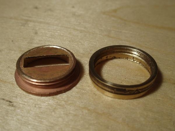 Флешка дизельпанк круглая, с колпачком на резьбе. (Фото 2)