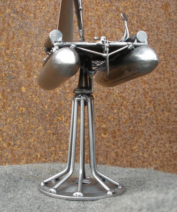 Металлическая скульптура - приз. Не стимпанк. (Фото 9)