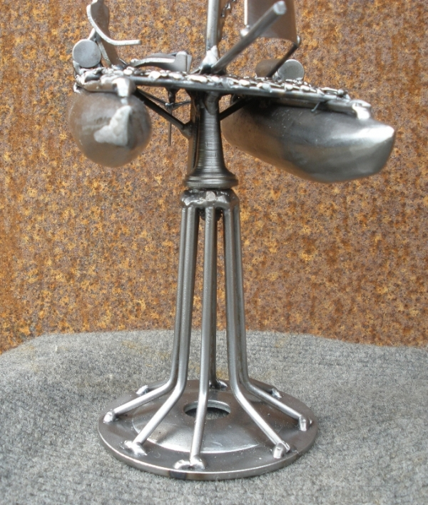 Металлическая скульптура - приз. Не стимпанк. (Фото 8)