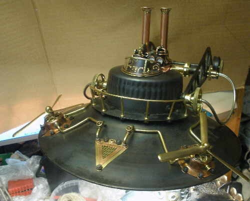 Паровая вимана для Капитана (продолжение лампы-подводной лодки, ч.12). (Фото 23)