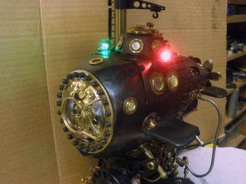 Паровая вимана для Капитана (продолжение лампы-подводной лодки, ч.12). (Фото 25)