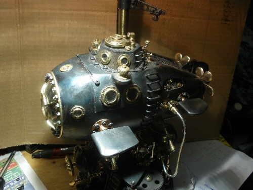 Паровая вимана для Капитана (продолжение лампы-подводной лодки, ч.12). (Фото 24)