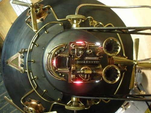 Паровая вимана для Капитана (продолжение лампы-подводной лодки, ч.12). (Фото 21)