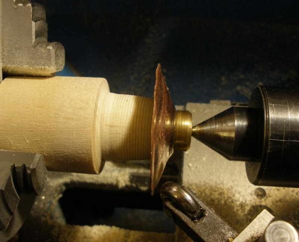 Техника ротационного выдавливания. Флешка-субмарина. (Фото 2)