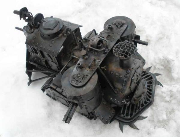 Стим-танк, гусеничный бронепоезд. Ко дню Защитника отечества. (Фото 11)