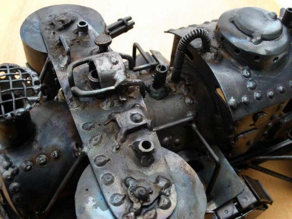 Стим-танк, гусеничный бронепоезд. Ко дню Защитника отечества. (Фото 19)