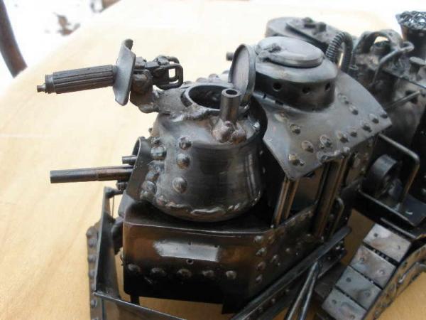 Стим-танк, гусеничный бронепоезд. Ко дню Защитника отечества. (Фото 18)