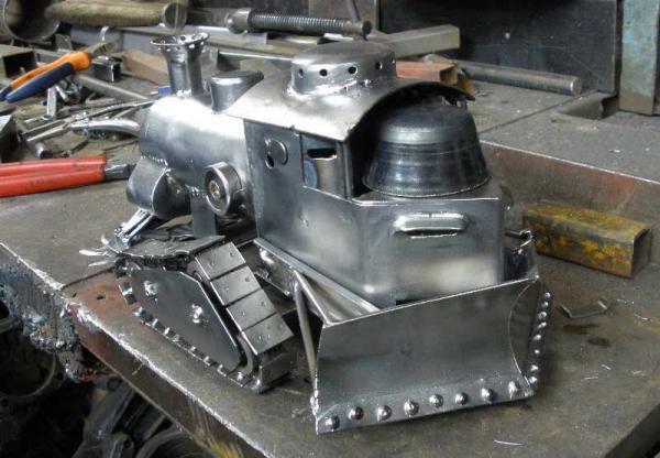 Стим-танк, гусеничный бронепоезд. Ко дню Защитника отечества. (Фото 15)
