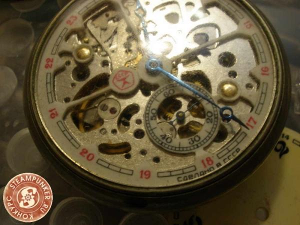 """Часы стимпанк, наручные, скелетон. На конкурс """"Время"""". (Фото 5)"""