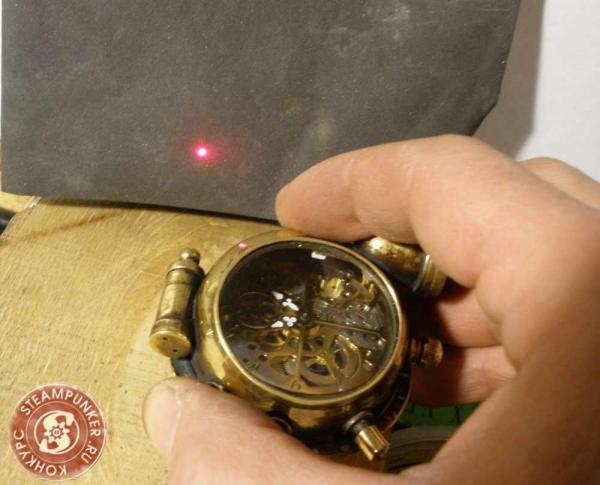 """Часы стимпанк, наручные, скелетон. На конкурс """"Время"""". (Фото 56)"""
