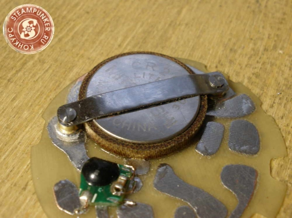"""Часы стимпанк, наручные, скелетон. На конкурс """"Время"""". (Фото 50)"""