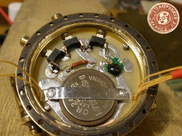 """Часы стимпанк, наручные, скелетон. На конкурс """"Время"""". (Фото 51)"""