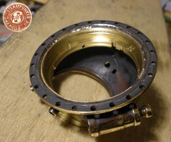 """Часы стимпанк, наручные, скелетон. На конкурс """"Время"""". (Фото 38)"""