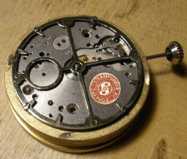 """Часы стимпанк, наручные, скелетон. На конкурс """"Время"""". (Фото 20)"""