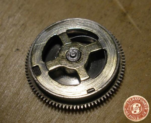"""Часы стимпанк, наручные, скелетон. На конкурс """"Время"""". (Фото 25)"""