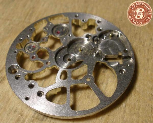 """Часы стимпанк, наручные, скелетон. На конкурс """"Время"""". (Фото 23)"""