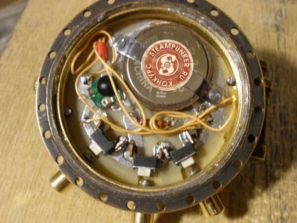 """Часы стимпанк, наручные, скелетон. На конкурс """"Время"""". (Фото 52)"""