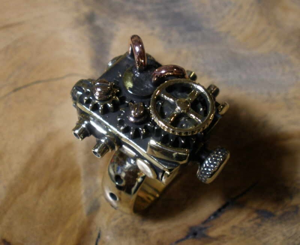 Колечко с шестеренками, на 16 Гиг (Фото 16)