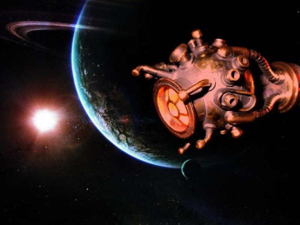 Ко дню Космонавтики. Исследовательский модуль.