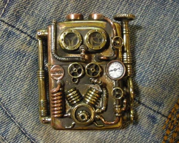 Зиппа с компрессором