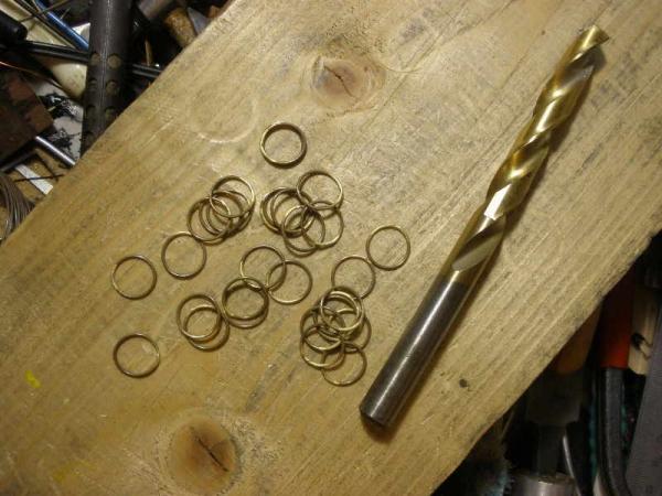 Изготовление цепочки