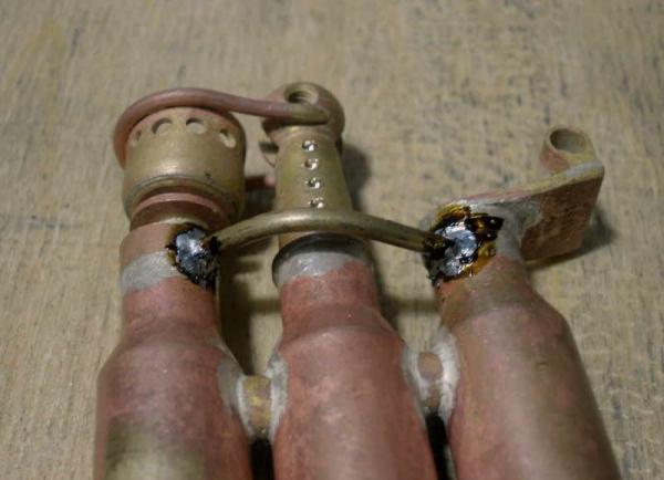 Зажигалка-монстр. Три гильзы, два бака. (Фото 15)