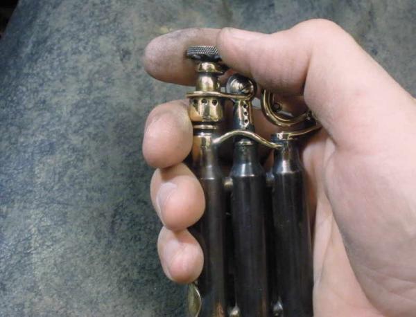 Зажигалка-монстр. Три гильзы, два бака. (Фото 26)