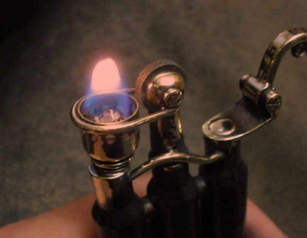 Зажигалка-монстр. Три гильзы, два бака. (Фото 19)