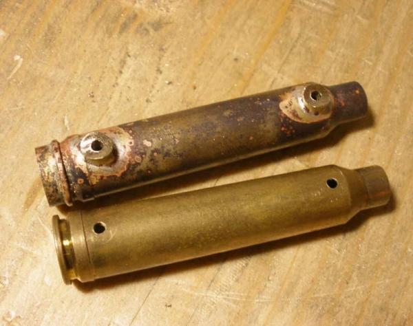 Зажигалка-монстр. Три гильзы, два бака. (Фото 2)
