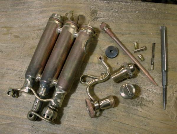Зажигалка-монстр. Три гильзы, два бака. (Фото 16)