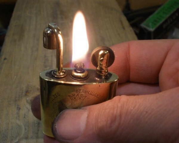 Зажигалка Персидского Шаха (Фото 15)