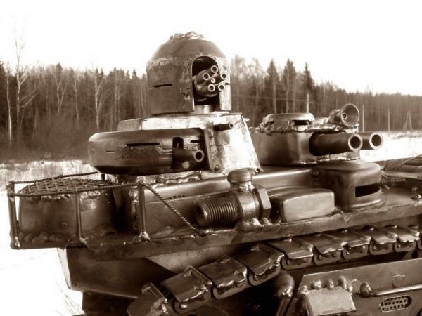 Ко дню Защитника - Танк II.