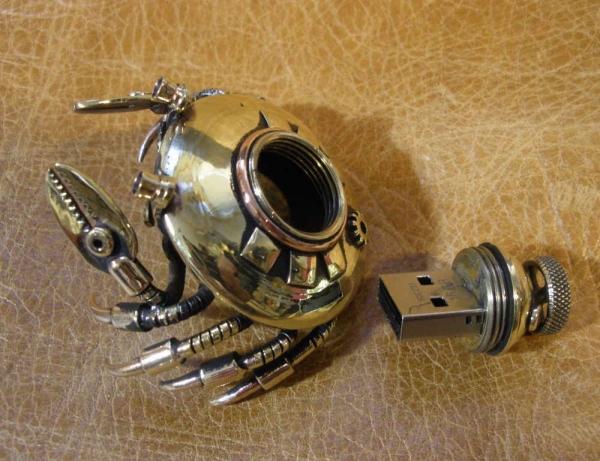 Роботокрабы, или крабороботы.