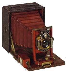 Старинный фотоаппарат