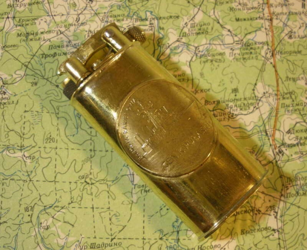 Зажигалка с вертикальным валиком (№53).