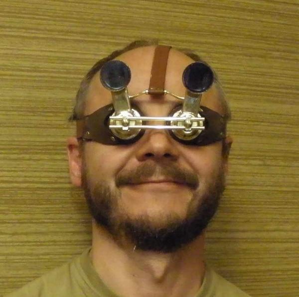 Глаза на лоб! Боевые перископические гогглы Дитриха фон Дреммеля.