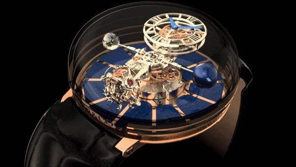 Шедевры точной механики. Часы с трех-осевым турбийоном.