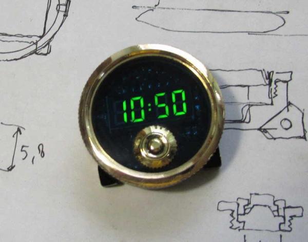 Юбилейные наручные часы, №10. Совместный проект. Не стимпанк.